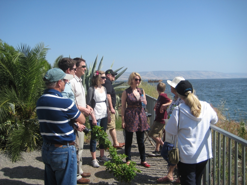 The Sea of Galilee at Capernaum