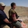 Bob and Dave riding camels